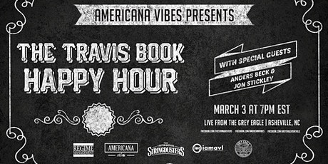 LIVE STREAM:  The Travis Book Happy Hour ft Anders Beck + Jon Stickley tickets