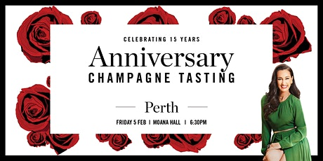 Perth Champagne Tasting - 15 Year Anniversary tickets