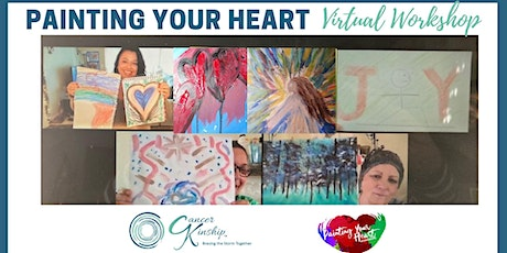"Unwind and Have Fun at ""Painting Your Heart"" Virtual Workshop tickets"