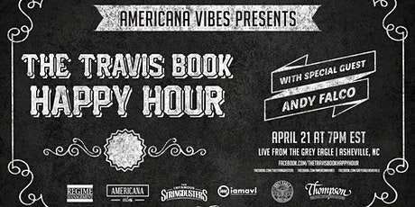 LIVE STREAM:  The Travis Book Happy Hour ft Andy Falco tickets