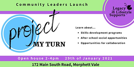 Project My Turn - Community Leaders Launch tickets