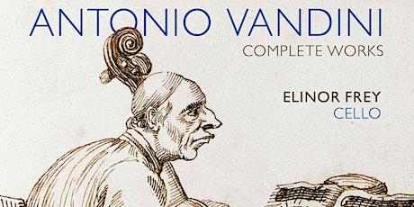 Vandini Sonatas and CD Release Party! - Intermezzi in musica 2 tickets