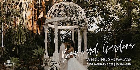 Boulevard Gardens Wedding Showcase - Sunday 31.1.21 tickets