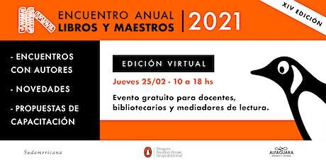 Encuentro Anual Libros y Maestros 2021 - Edición virtual entradas