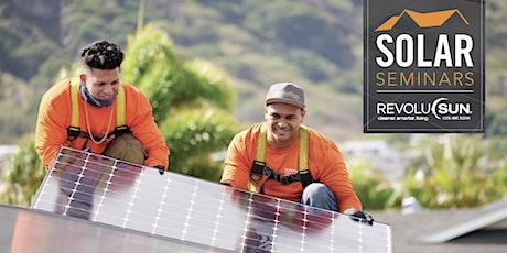 Solar Seminar tickets