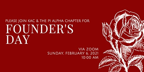 Alpha Omicron Pi 2021 Founder's Day Celebration tickets