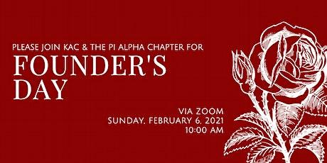 Alpha Omicron Pi 2021 Founder's Day Celebration tickets