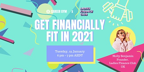 Career Gym: Get Financially Fit in 2021 ingressos