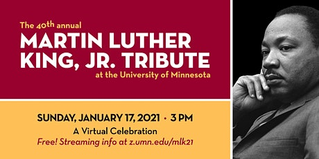 40th Annual  University of Minnesota Martin Luther King, Jr Tribute Concert tickets