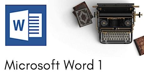 Microsoft Word Level 1 - 3 hr Zoom Workshop tickets