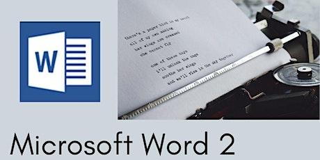 Microsoft Word Level 2 - 3 hr Zoom Workshop tickets