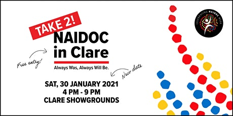 Clare's NAIDOC Event - Take 2! tickets