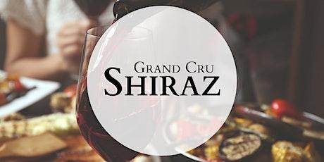 Grand Cru Shiraz Tasting and Dinner Brisbane 12th August 2021 6.30pm tickets