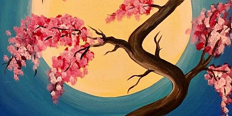 Paint and Sip Class: Japanese Spring tickets