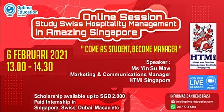 Online Session - Study  Hospitality Program at One of the Best in the World tickets