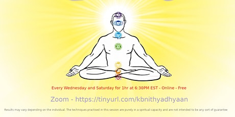 Nithya Dhyan Chakra Meditation tickets