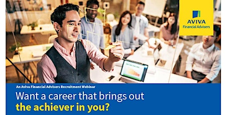 Launch Your Career with Aviva Financial Advisers tickets