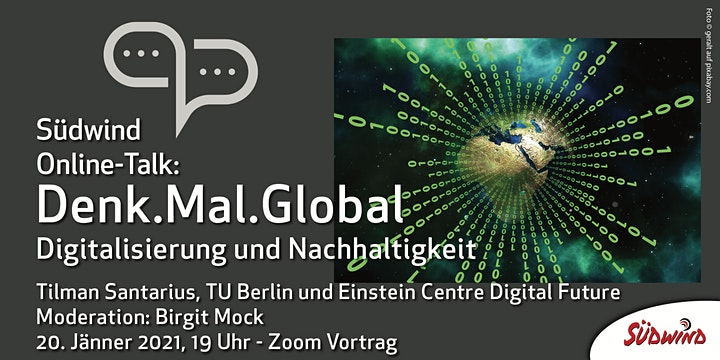 Denk.Mal.Global -Digitale Weltentwicklung -Digitalisierung u Nachhaltigkeit: Bild