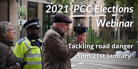 2021 PCC Elections: Tackling road danger tickets