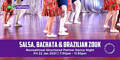 Salsa, Bachata & Brazilian Zouk RSPD Night tickets