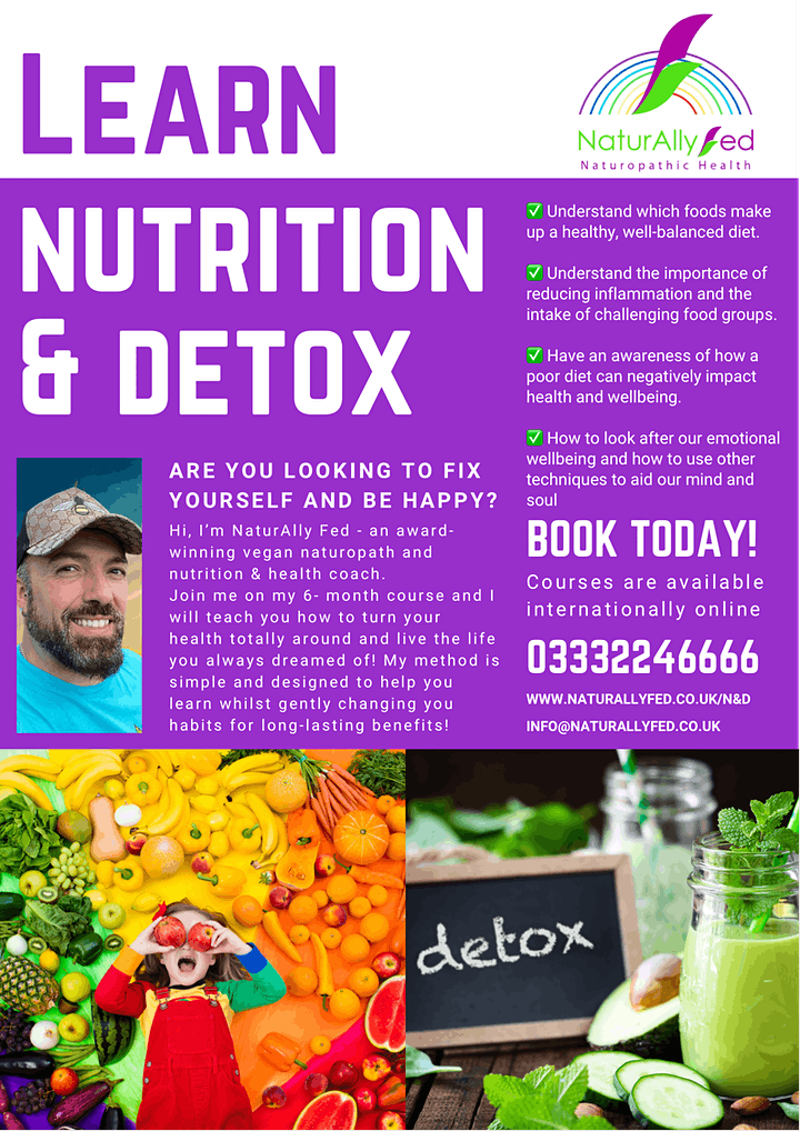 NaturAlly Fed Nutrition & Detox Course image