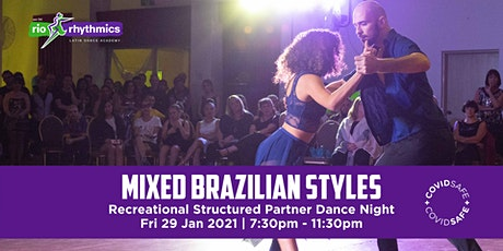 Mixed Brazilian Styles RSPD Night tickets