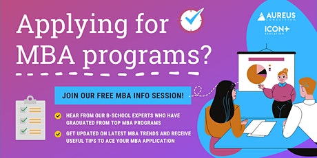 Ace Your MBA Application to Top Business Schools tickets