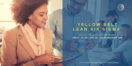 Yellow Belt Lean Six Sigma tickets