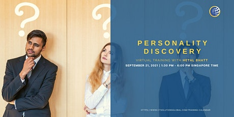 Personality Discovery tickets