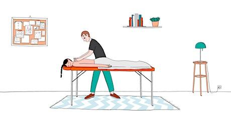 Massage latéral Suédois  2-3/03/2021 billets