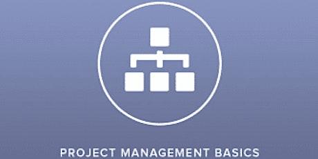 Project Management Basics 2 Days Training in Edmonton tickets