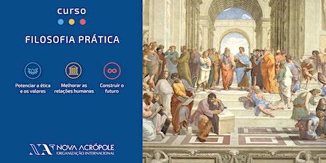 Curso de Filosofia Prática (online) - 1ª aula gratuita bilhetes
