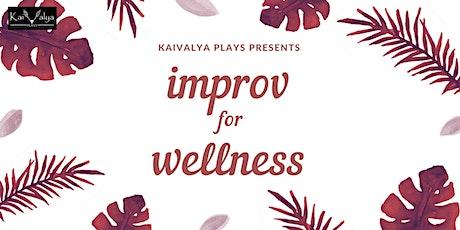 Improv For Wellness tickets