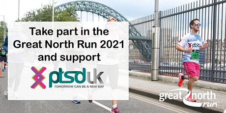 2021 Great North Run to support PTSD UK tickets