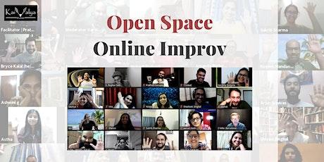 Open Space | Online Improv Jam tickets