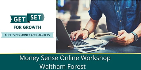 Money Sense Workshop - Waltham Forest tickets