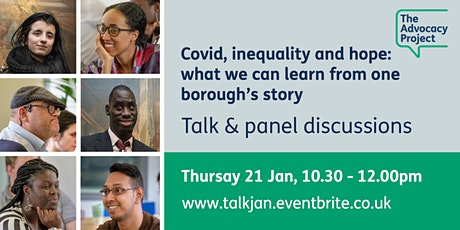 Covid, inequality and hope: what we can learn from one borough's story tickets