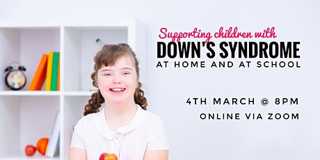 Understanding Down's Syndrome tickets