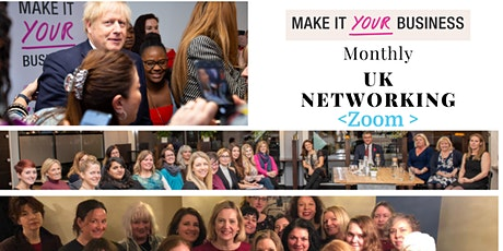 Make It Your Business UK Online Networking Meetings tickets