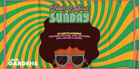 Funk & Soul Sunday at Lakota Gardens tickets