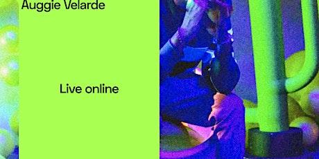 Auggie Velarde - Online Stream tickets