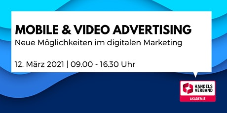 ONLINE-SEMINAR Mobile & Video Advertising tickets