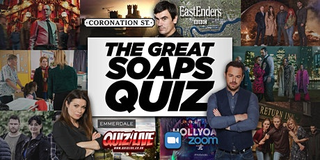 The Great Soaps Quiz Live on Zoom tickets