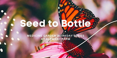 Seed to Bottle: Medicine Garden Focused Workday Series tickets