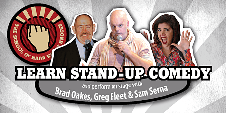 Learn stand-up comedy in Melbourne this April with Greg Fleet tickets