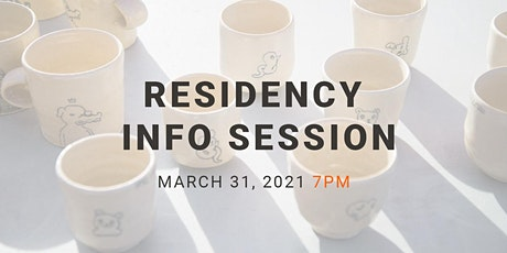 2021 RESIDENCY INFO SESSION tickets
