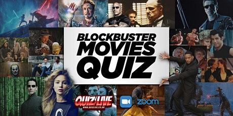 Blockbusters Movie Quiz Live on Zoom tickets
