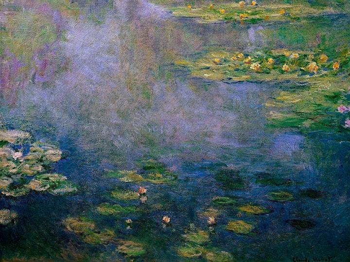 Facebook LIVE - Paint MONET - 'Lillies' image