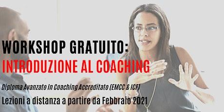 Workshop gratuito: Introduzione al Coaching biglietti