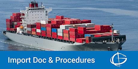 U.S. Importing Regulations & Procedures Webinar tickets
